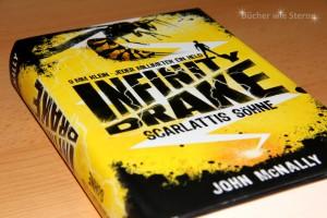 John McNally: Infinity Drake 1 (Scarlattis Söhne) Deutscher Hardcover Loewe Verlag (2015
