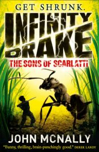John McNally: Infinity Drake UK-Taschenbuchausgabe Harper Collins (2015)