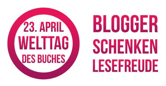Große Verlosungsaktion der Blogger zum Welttag des Buches