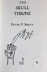 UK-Ausgabe mit Arlen-Avatar (links unten)
