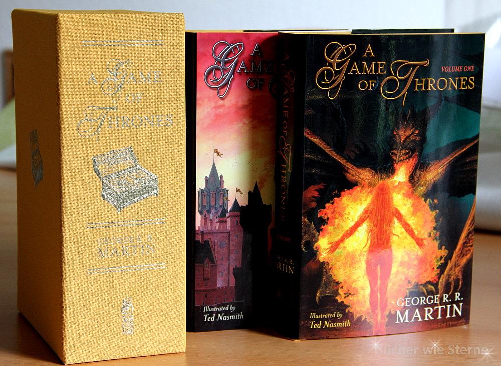 George R. R. Martin: A Game of Thrones Zweiteilige limitierte und signierte Ausgabe Subterranean Press (2015)