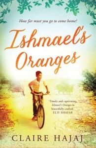 Claire Hajaj: Ishmael's Oranges UK-Taschenbuchausgabe Quelle: Oneworld-Publications (Der Duft von bitteren Orangen)