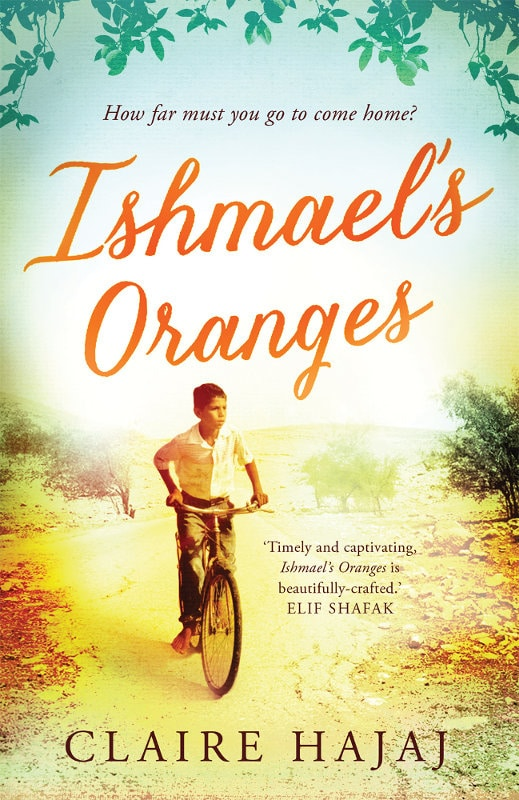 Claire Hajaj: Ishmael's Oranges UK-Taschenbuchausgabe Quelle: Oneworld-Publications