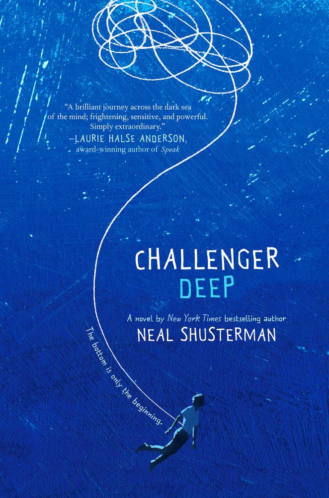 """""""Challenger Deep"""" ist die englische Ausgabe von """"Kompass ohne Norden""""."""