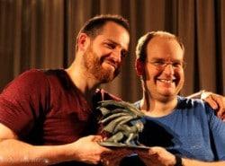 """Fantasyautor Joe Abercrombie wurde der """"Schwäbische Lindwurm"""" verliehen"""