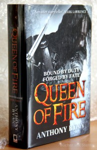 Anthony Ryan: Queen of Fire UK-Hardcover Orbit Verlag, 2015