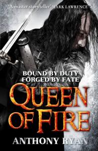 Anthony Ryan: Queen of Fire, UK-Hardback, Orbit Verlag (2015) (Die Königin der Flammen)
