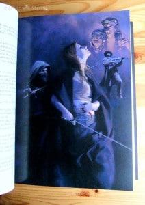 Rogues-Anthologie Eine Innenillustration von Ken Laager