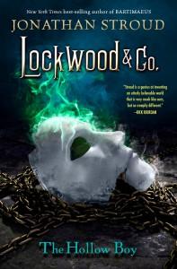 Jonathan Stroud: The Hollow Boy US-Ausgabe Hyperion (2015) (dt. Die Raunende Maske)
