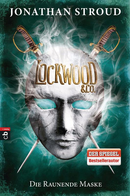 Jonathan Stroud: Die raunende Maske Dt. Hardcoverausgabe cbj Verlag (2015)