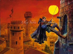 Auf www.alexeypehov.com gibt es einige sehenswerte Illustrationen zu den Büchern von Oleg Yudin.