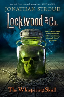 Jonathan Stroud: The Whispering Skull US Hardcover Hyperion Verlag