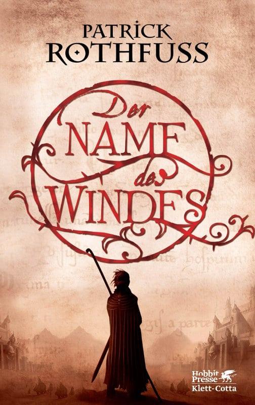 Patrick Rothfuss: Der Name des Windes, Hardcover, Hobbit Presse/Klett-Cotta, 2018