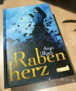 Anja Ukpai: Rabenherz Deutscher Hardcover Planet Verlag (2016)