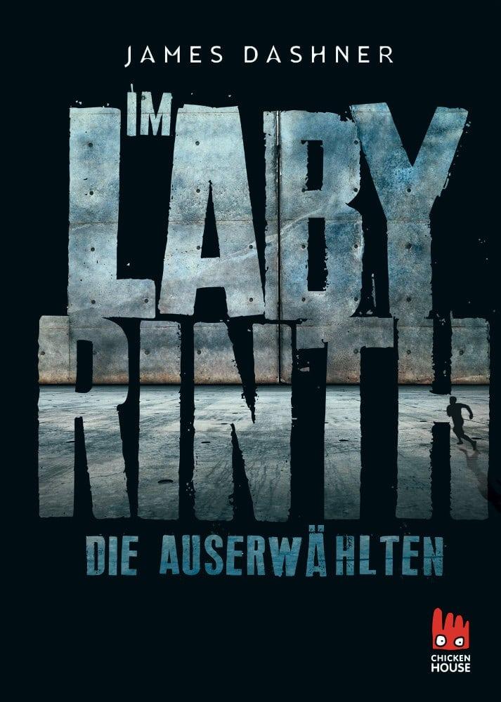 Im Labyrinth - Die Auserwählten (Cover), Chicken House