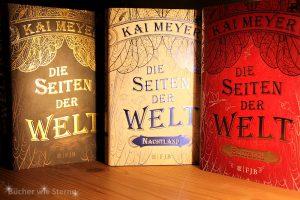 Kai Meyer: Die Seiten der Welt (Trilogie) Hardcoverausgaben Verlag Fischer FJB