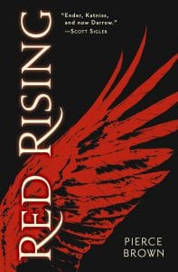 Pierce Brown: Read Rising Broschierte Ausgabe, Hodder & Stoughton (2014)
