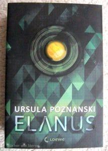 Ursula Poznanski: Elanus Dt. Taschenbuchausgabe Loewe Verlag (2016)