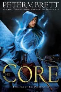 The Core (US-Cover), auf Deutsch in zwei Teilen: Das Leuchten der Magie udn Die Stimmen des Abgrunds