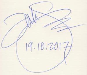 Tad Williams signierte in Stuttgart auch Bücher