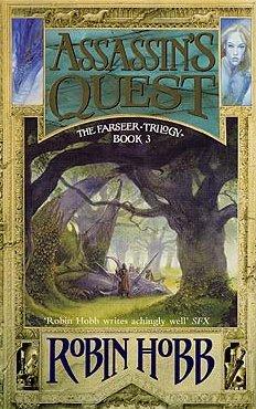 """Robin Hobb: Assassin's Quest, englische Erstausgabe von """"Der Erbe der Schatten"""""""