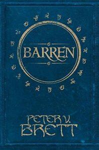 Peter V. Brett: Barren, A Demon Cycle Novella, Hardcover