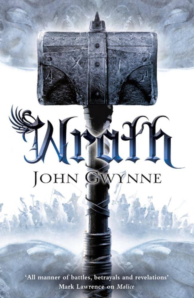 Wrath (Ungnade) von John Gwynne (Buchcover)