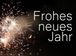 Euch allen ein gesundes und erfolgreiches neues Jahr 2018!!!