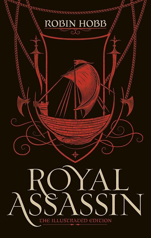 """Royal Assassin (Illustriert), die englische Ausgabe von """"Der Bruder des Wolfs"""""""