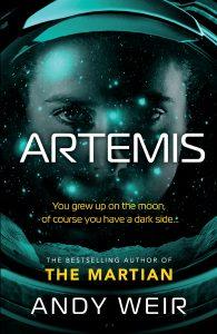 Artemis, englische Ausgabe, Del Rey, 2017
