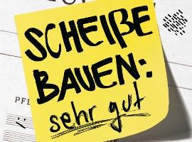 Tobias Steinfeld - Scheiße bauen: sehr gut