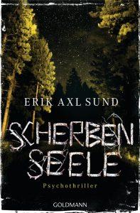 Erik Axl Sund: Scherbenseele,  Taschenbuch, Goldmann Verlag, 2015