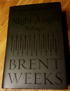 The Night Angel Trilogy (Cover)