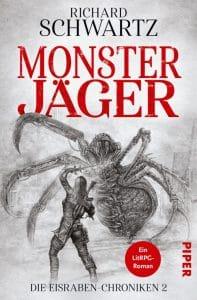 """""""Monsterjäger"""" ist der Folgeband nach """"Fluchbrecher"""" von Richard Schwartz"""