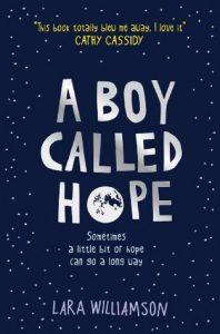 Lara Williamson: A Boy Called Hope, UK-Taschenbuchausgabe Usborne Verlag, 2014