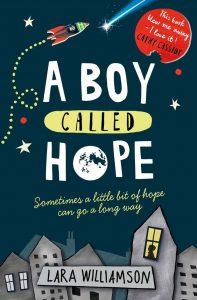 Lara Williamson: A Boy Called Hope, neuere UK-Taschenbuchausgabe, Usborne Verlag, 2017