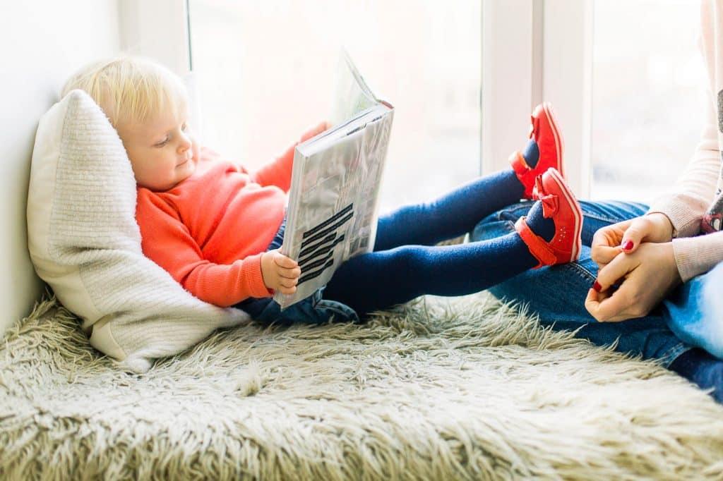Kinder lesen, wenn man sie schon früh an Bücher heranführt