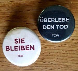 """""""Sie bleiben"""" Buttons"""