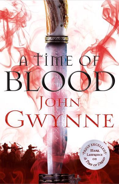 A Time of Blood (Die Zeit des Feuers), englische Ausgabe