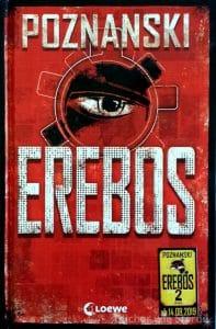 Das schöne Buchcover des ersten Teils der Erebos-Reihe (limitiert)