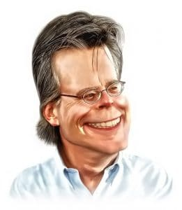 "Stephen King, Autor von ""Der Outsider"""