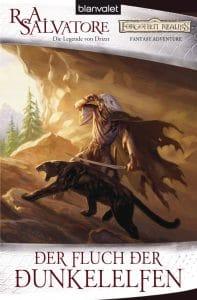 Buchcover von Der Fluch der Dunkelelfen von R. A. Salvatore