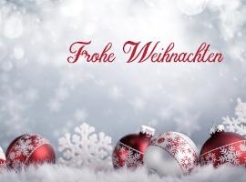 Fröhliche Weihnachten euch allen!