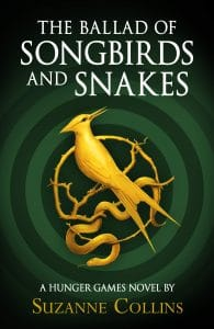 "Die Tribute von Panem, englisches Buchcover ""The Ballad of Songbirds and Snakes"""