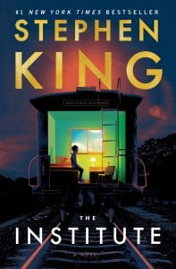 "Buchcover von ""The Institute"" von Stephen King"