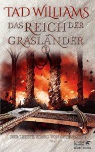 Buchcover zu Das Reich der Grasländer (Band 1) von Tad Williams. Reihe: Der letzte König von Osten Ard.