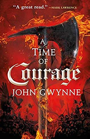 A Time of Courage by John Gwynne, Orbit Verlag, 2020 (Die Zeit der Finsternis)