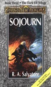 """Buchcover von """"Sojourn"""" von R. A. Salvatore (Der Fluch der Dunkelelfen)"""