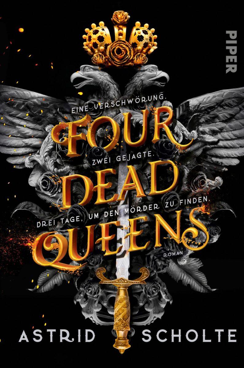 Astrid Scholte: Four Dead Queens, Broschierte Ausgabe, Piper, 2020