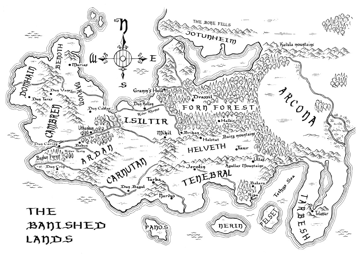The Banished Lands (Die verfemten Lande)